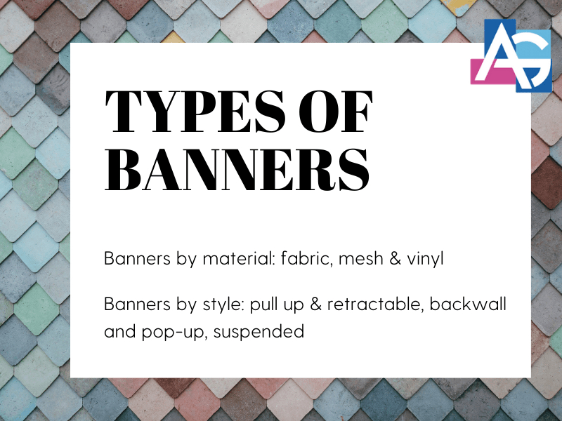 Types Of Banners